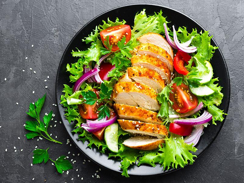Salad Chicken Meat