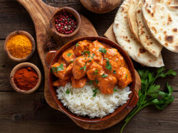 Serve With Butter Chicken