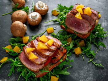 Serve With Duck Breast