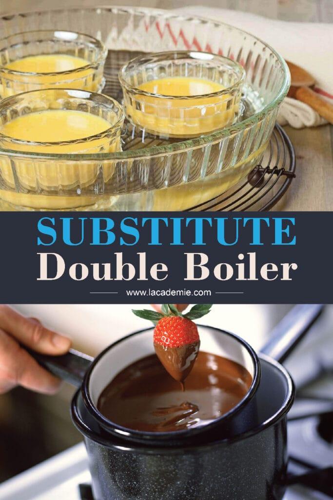 Substitute Double Boiler