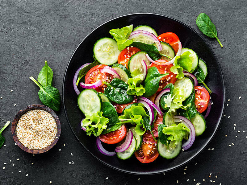 Vegetable Salad Fresh