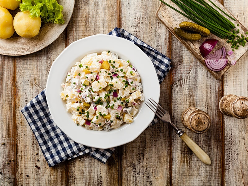 What To Eat With Potato Salad?