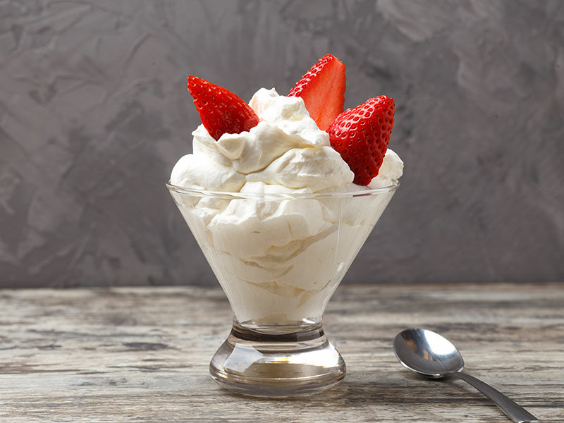 Whipped Cream Cup