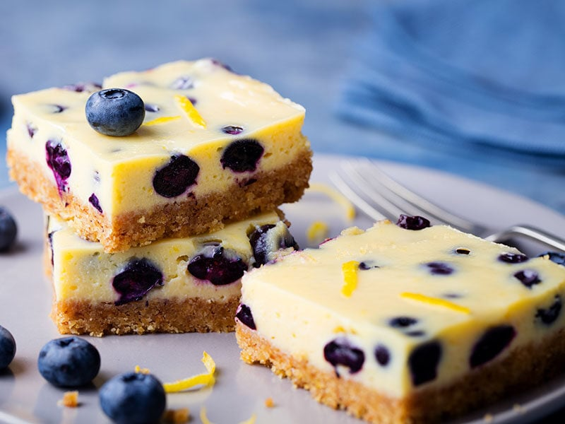 Blueberry Cake Cheesecake