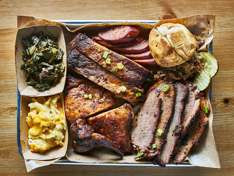 Brisket And Its Side Dishes