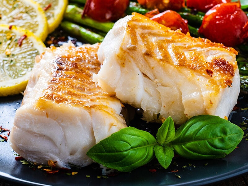 Cod Fillets With Basil