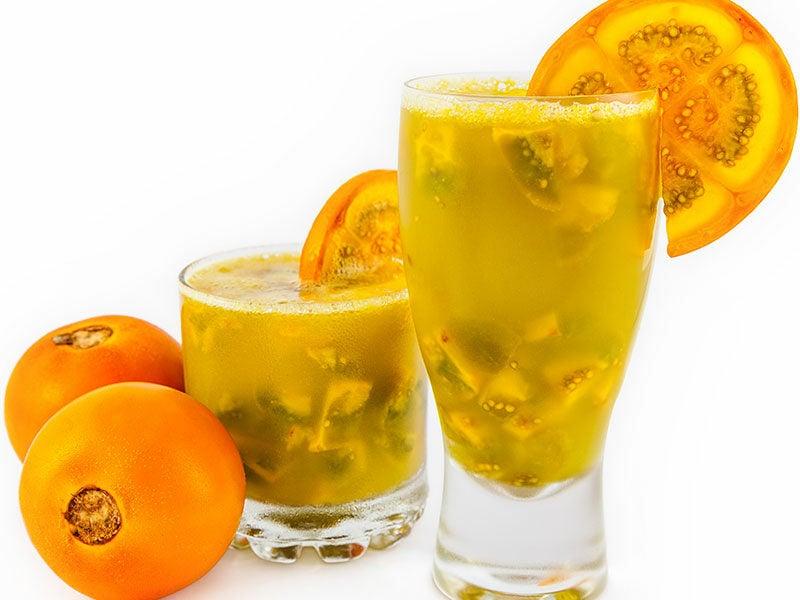 Colombian Naranjilla Juice