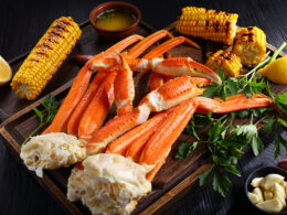 Serve With Crab Legs