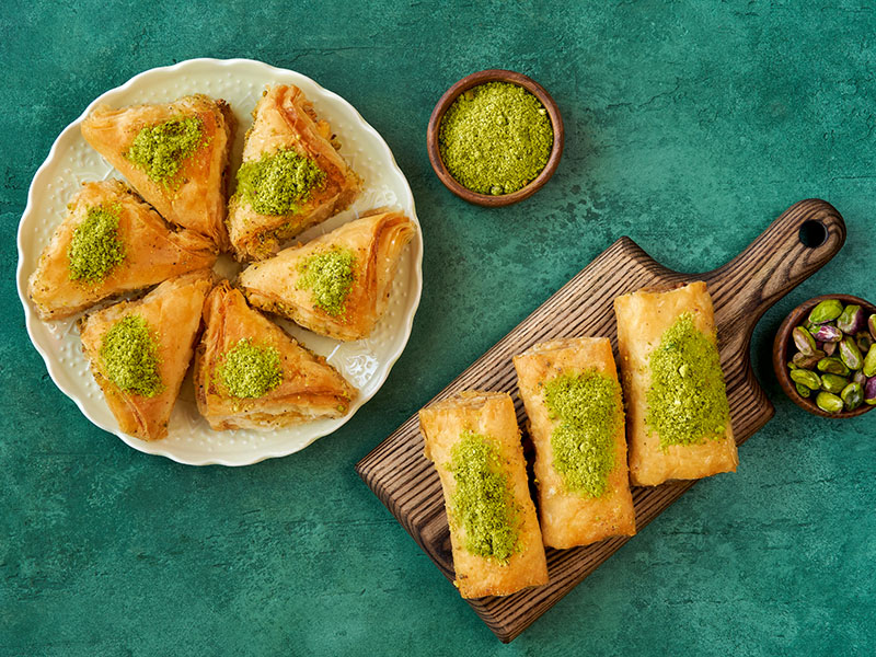 Savor 45 Turkish Desserts