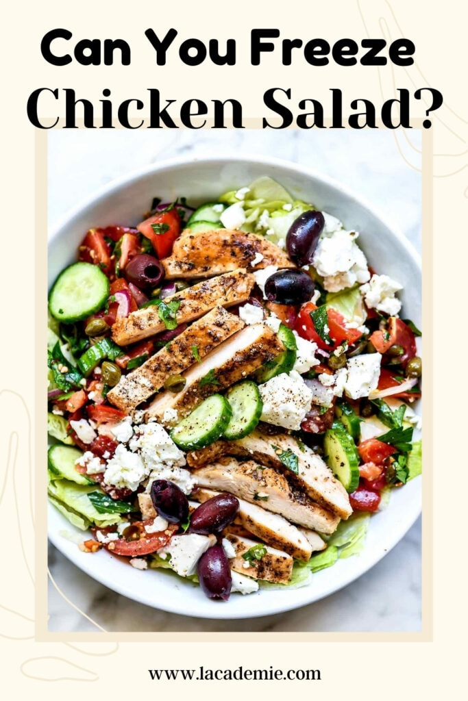 Can You Freeze Chicken Salad
