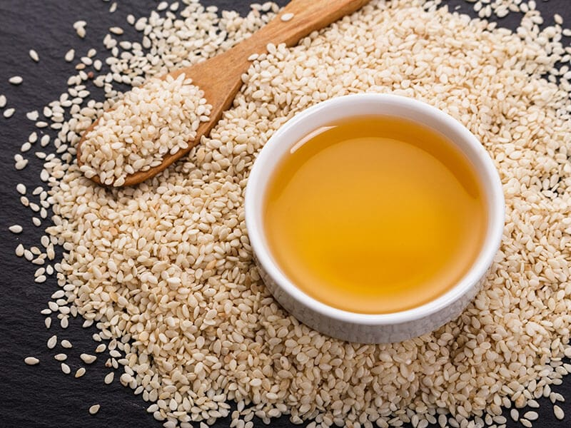 Cooking Sesame Oil