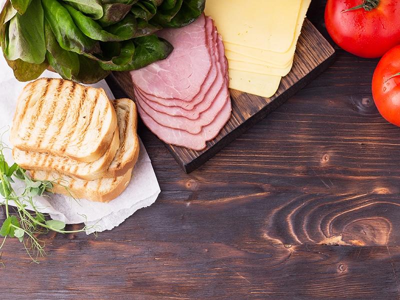 Ingredients Sandwich