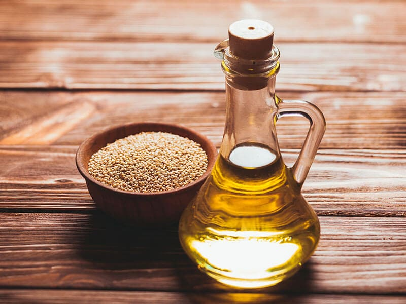 Sesame Oil Glass