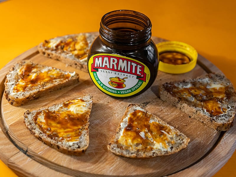 Spreading Marmite