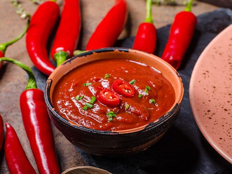 Sriracha Sauce Red
