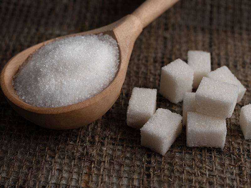 Sugar Burlap Granulated