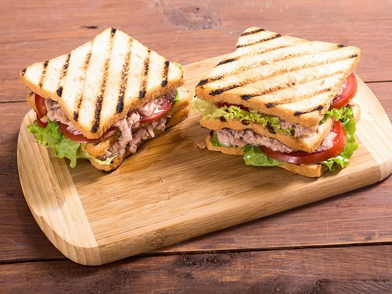 Typical BLT Sandwich