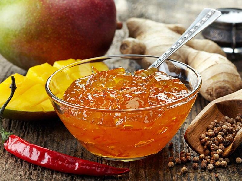 Bowl Mango Chutney