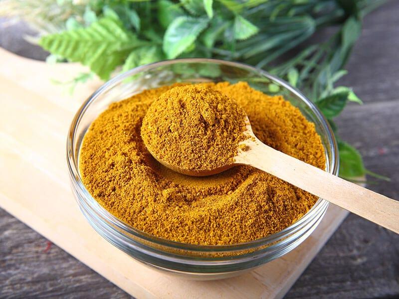 Curry Powder Glass