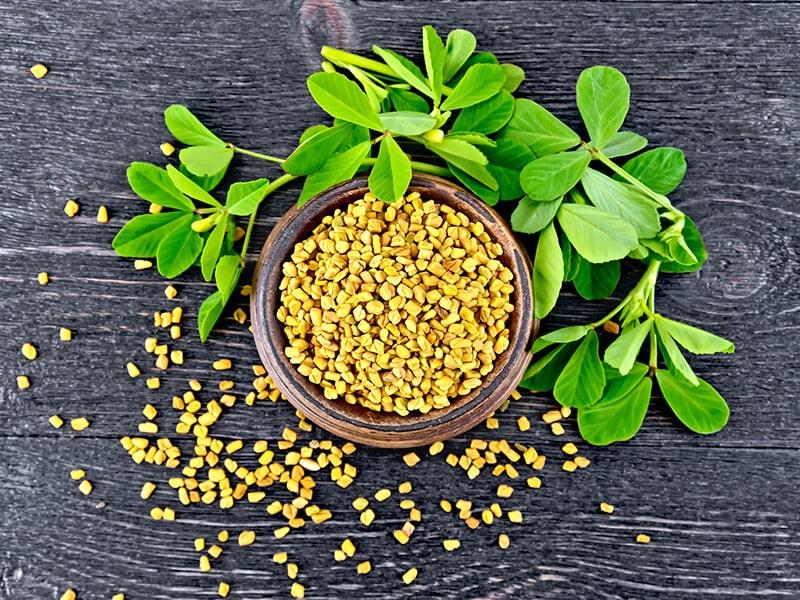 Fenugreek Seeds Bowl