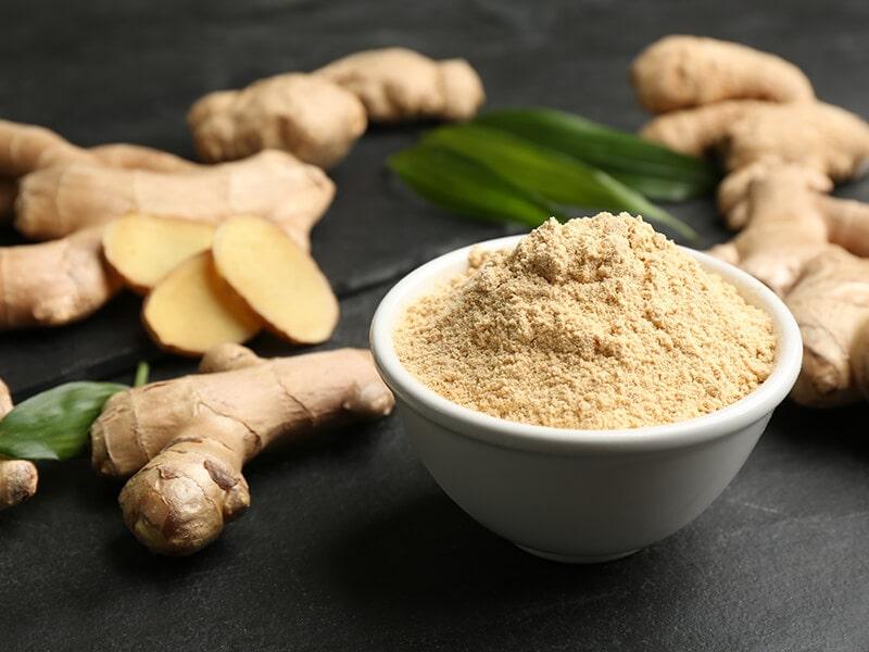 Fresh Ginger with Powder