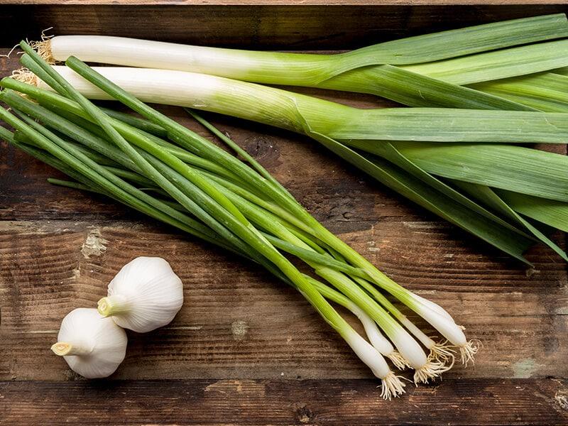 Garlic and Leeks