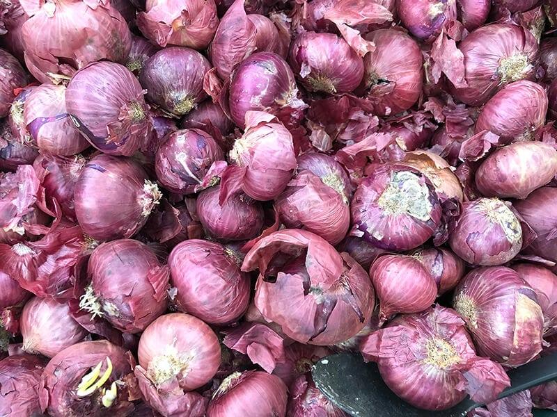 Minced Shallots And Garlic